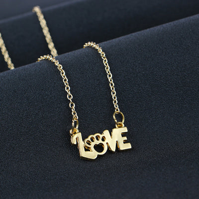 We Love Paws Necklace