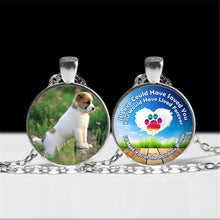 Load image into Gallery viewer, Pendant Necklace Memorial Customize with Your Dog or Cats Picture