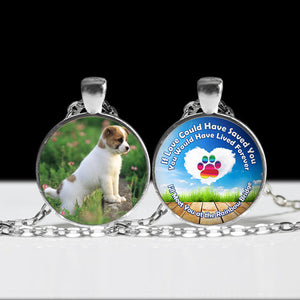 Pendant Necklace Memorial Customize with Your Dog or Cats Picture