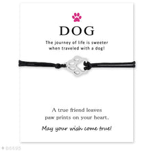 Load image into Gallery viewer, Charm and Cord Bracelet with Special Meaning