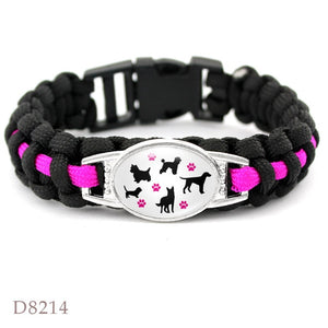 Paracord Pet Lover Bracelet