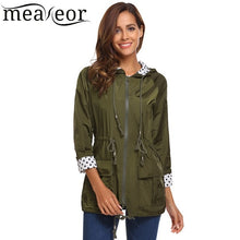 Load image into Gallery viewer, Meaneor Women's Lightweight Hooded Rain Jacket