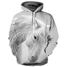 Load image into Gallery viewer, Fashionable Horse Print Hoodie