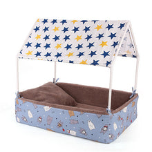 Load image into Gallery viewer, Princess or Prince Charming Pet Canopy Bed