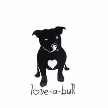 "Load image into Gallery viewer, Decal ""Love A Bull"""
