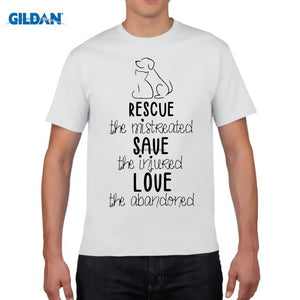 """Rescue Save Love"" T Shirt"
