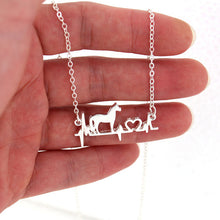 Load image into Gallery viewer, Good Luck Horse Necklace