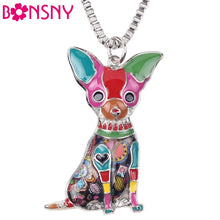 Load image into Gallery viewer, Chihuahua Dog Pendant Necklace