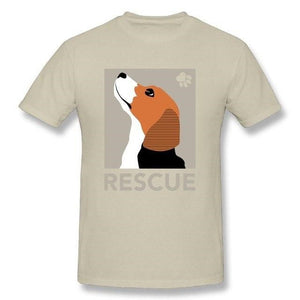 T-Shirt  Rescue Beagle Dog