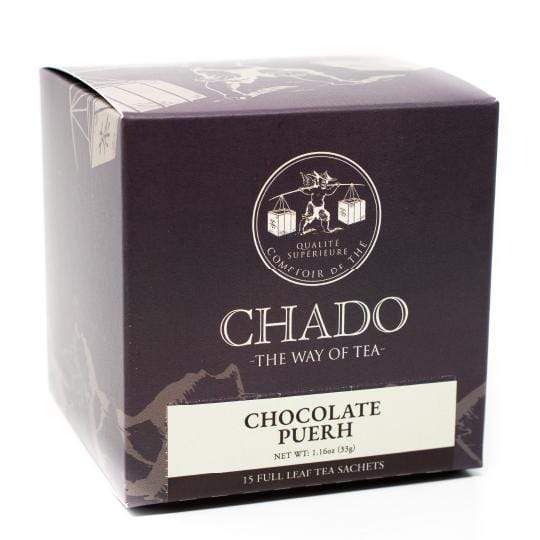 Chado Tea Chocolate Pu-Erh Tea Bags