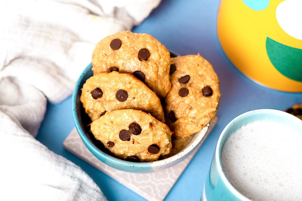 Banana Protein Cookies Recipe.