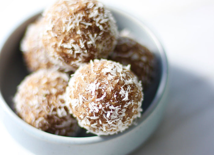 F45 approved protein balls by Sarah Tanner.