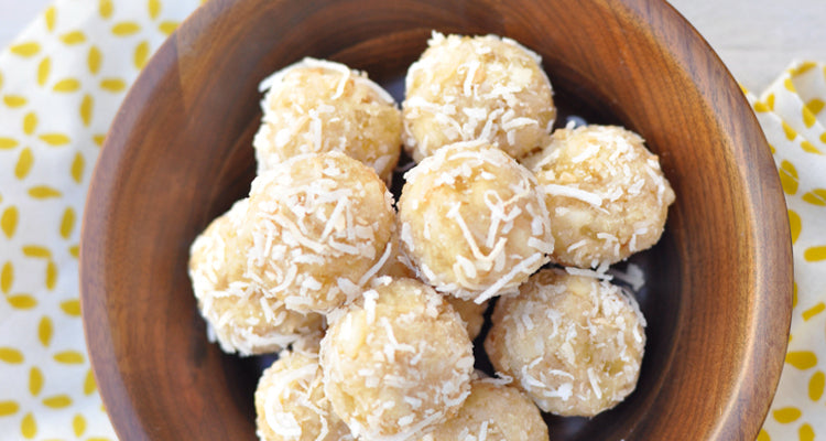 Use our Organic Vanilla WPC in yummy protein ball recipes.