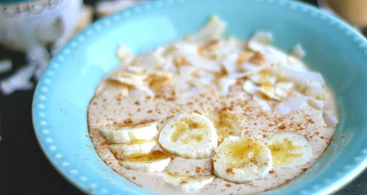 Use our Organic Banana WPC in delicious smoothie bowl recipes.