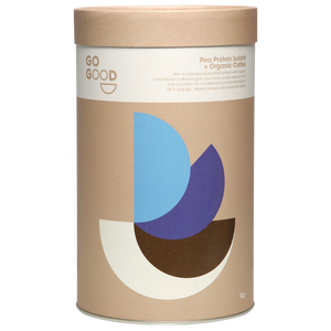 Plant Protein Isolate + Organic Coffee