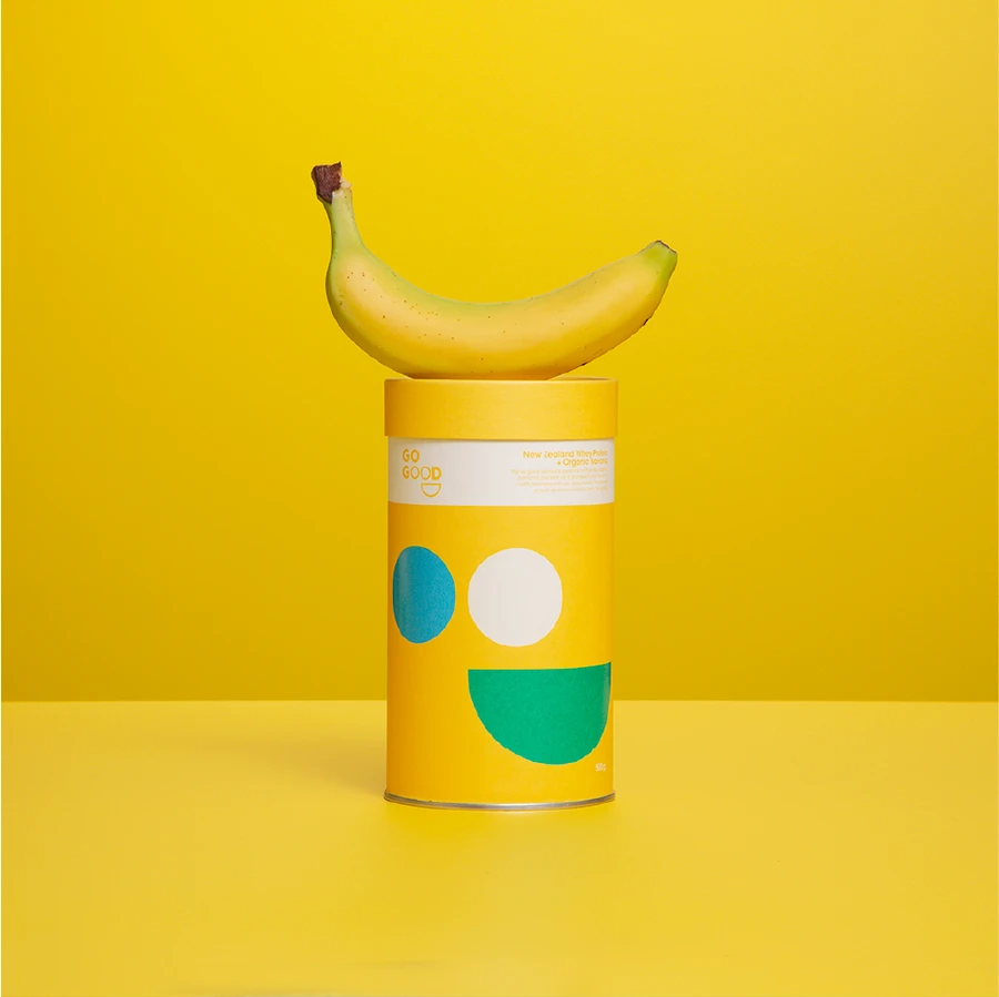 Load image into Gallery viewer, Whey Protein Powder + Organic Banana