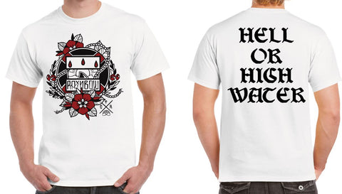 """Hell or High Water"" Front Graphic Tee"