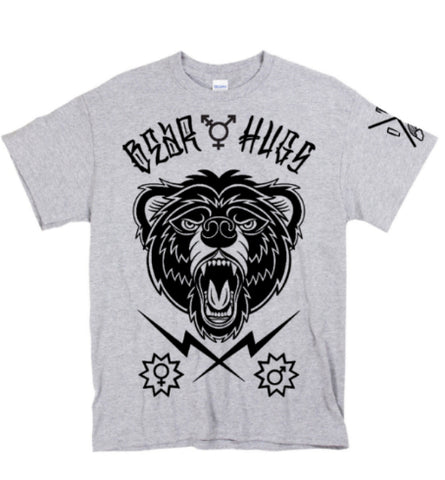 """BEAR HUGS"" Front Graphic Tee - XS - SM - MD - LG - XL - 2XL"