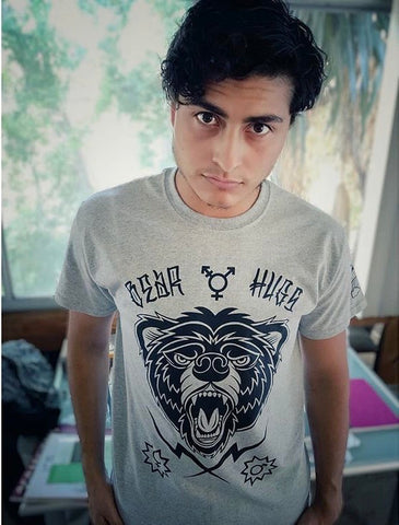"""BEAR HUGS"" Front Graphic Tee"