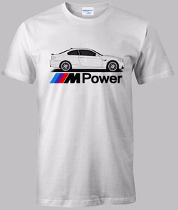 M Power E92 White Tee