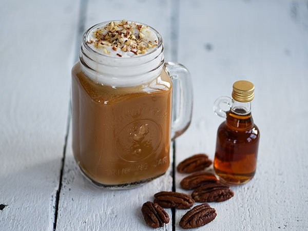 RECIPE - VEGAN MAPLE PECAN LATTE