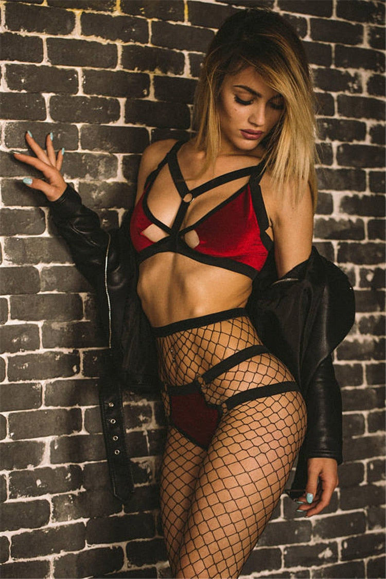 Vixen Velvet Two Piece Set