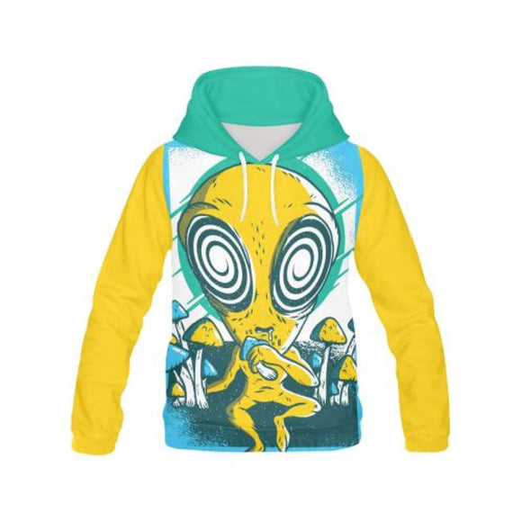 Alien Mushrooms - All-Over Hoodies | La Mú.ùz