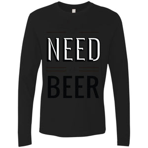 All You Need Is Beer - White / S - T-Shirts | La Mú.ùz