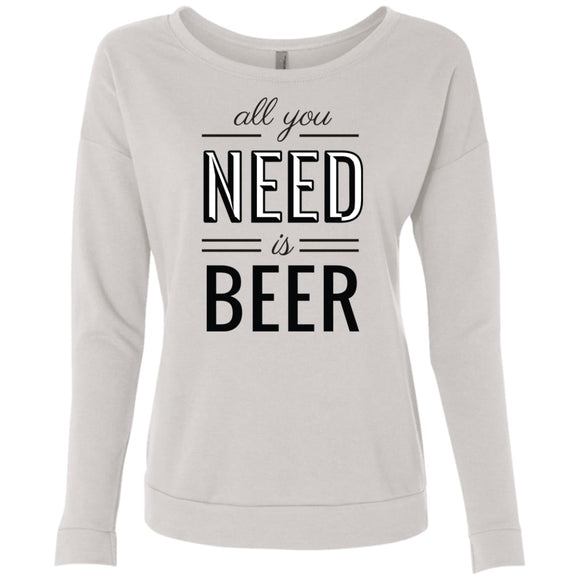 All You Need Is Beer - White / S - Sweatshirts | La Mú.ùz