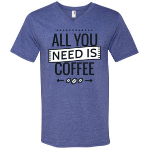 All You Need Is Coffee - White / S - T-Shirts | La Mú.ùz