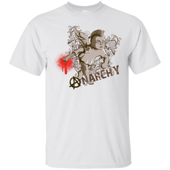 Anarchy - White / S - T-Shirts | La Mú.ùz