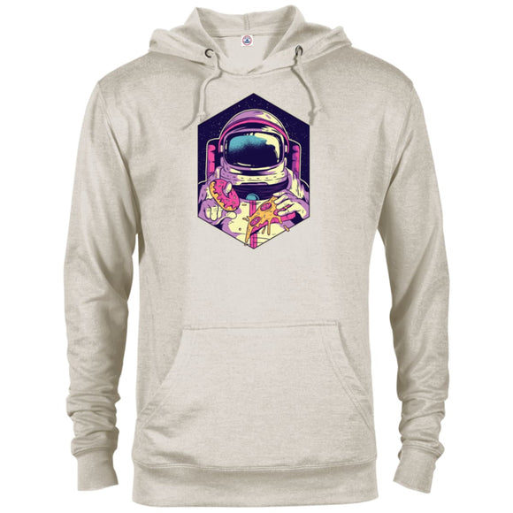 Astronaut Pizza - Oatmeal Heather / X-Small - Sweatshirts | La Mú.ùz