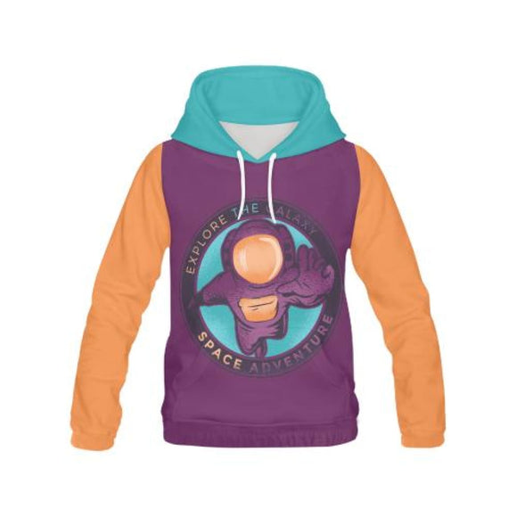 Explore The Galaxy - All-Over Hoodies | La Mú.ùz
