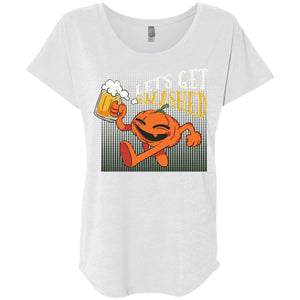 Lets Get Smashed - Heather White / X-Small - T-Shirts | La Mú.ùz