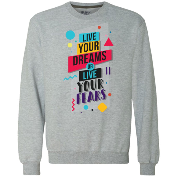 Live Your Dream - Sport Grey / S - Sweatshirts | La Mú.ùz