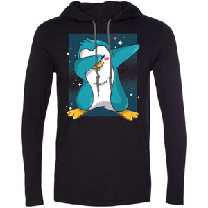 Penguin Dab - White/dark Grey / S - T-Shirts | La Mú.ùz