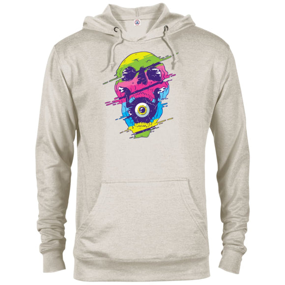 Psychedelic Skull Color - Oatmeal Heather / X-Small - Sweatshirts | La Mú.ùz
