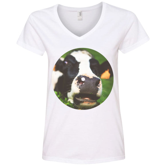 The Bright Side Of The Moo - White / S - T-Shirts | La Mú.ùz