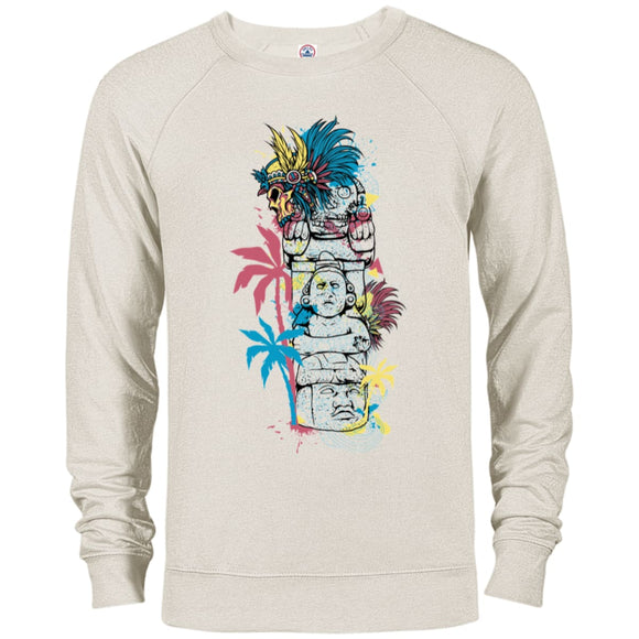 Totem - Oatmeal Heather / X-Small - Sweatshirts | La Mú.ùz
