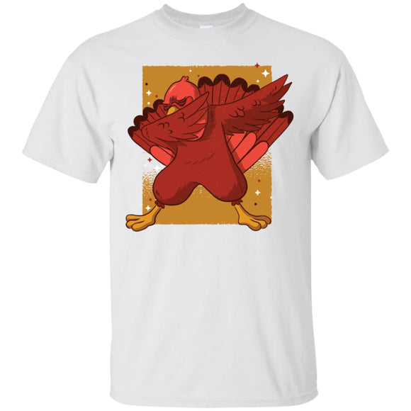 Turkey Dab - White / S - T-Shirts | La Mú.ùz