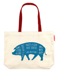 Vegan Totes + Pins