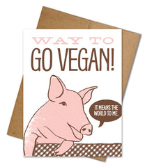 Eco-friendly Animal Sympathy + Vegan Greeting Cards