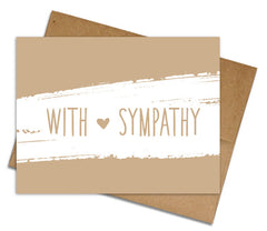Eco-friendly Hello + Sympathy + Get Well Cards