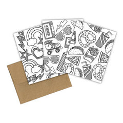Eco-friendly Coloring Cards