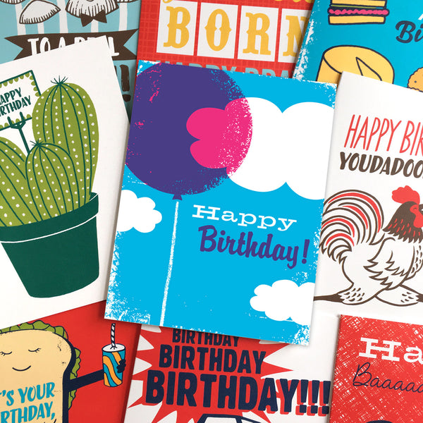 BIRTHDAY 10 CARD BUNDLE