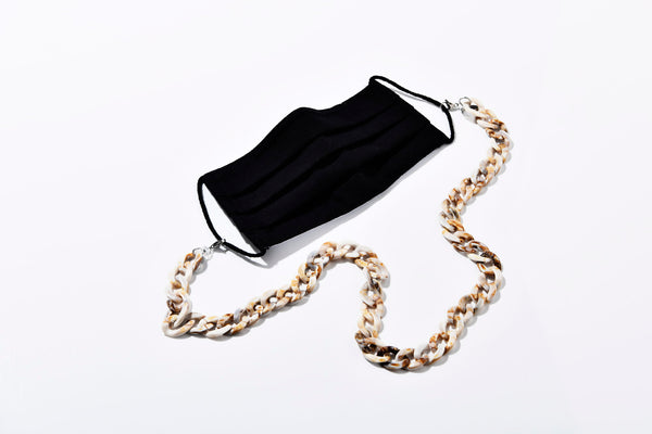 Masken- und Brillenband Ring Chain Large OATMEAL