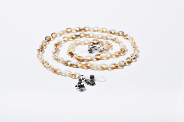 Masken- und Brillenband Ring Chain small OATMEAL