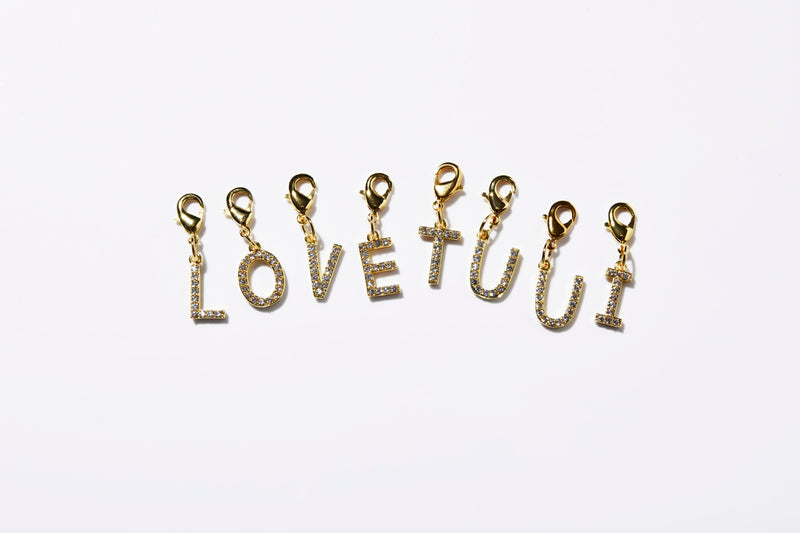 DIAMOND GOLD CHARMS