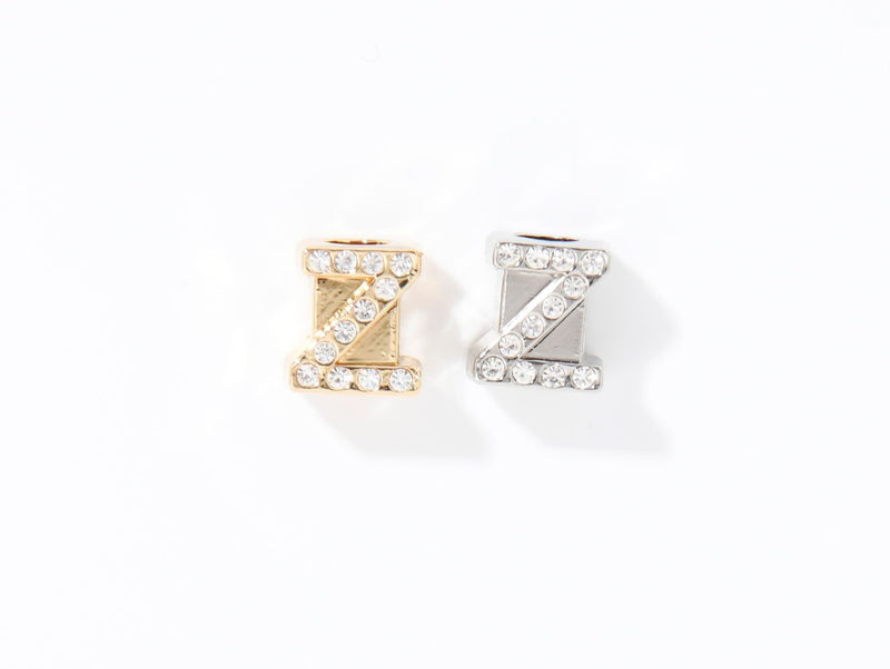 CUBE LETTER CHARMS GOLD (NATURE KOLLEKTION)