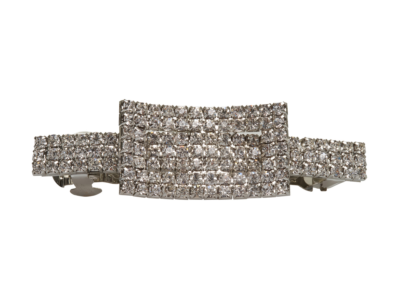 Allure Buckle Rhinestone Barrette